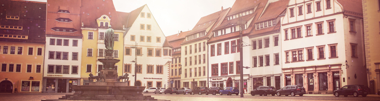 Silberstadt Freiberg Sachsen